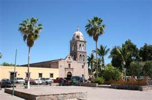 Mission Loreto baja Mexico