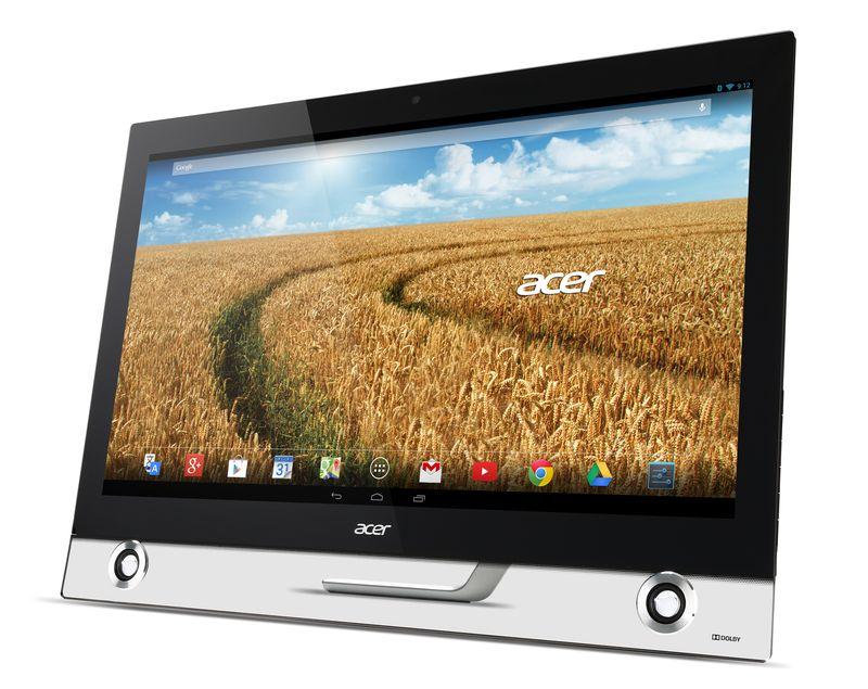 Acer Anroi AIO TA272HUL Left Angle