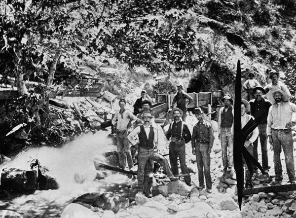 Eldoradoville propspectors 1885 la county museum