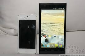 Zmax compared to iPhone