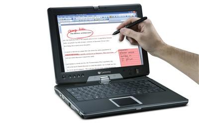 Gateway_e155c_write_on_screen_2